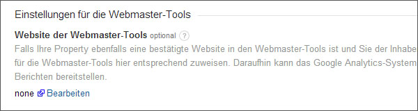 analytics-webmaster-tools